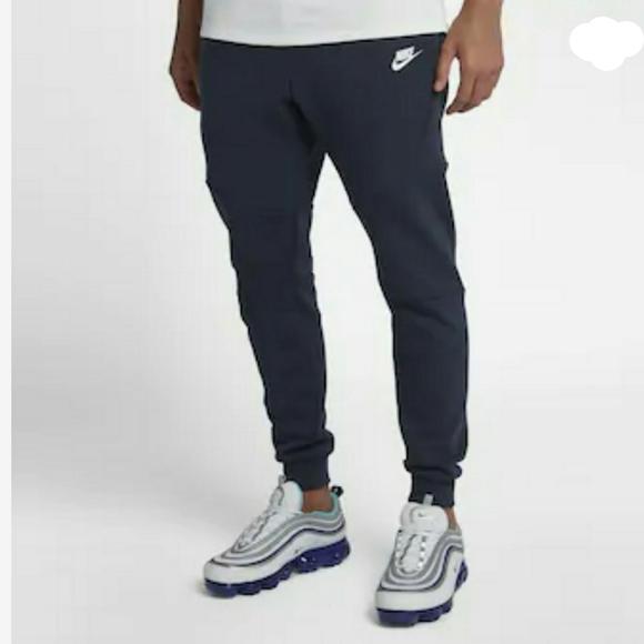 Nike Pants Nike Tech Fleece Joggers Navy Blue Poshmark
